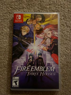 Fire Emblem 3 houses for Nintendo switch for Sale in Bellevue, WA