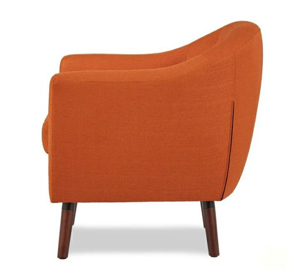 🌲Homelegance Lucille Orange Accent Chair