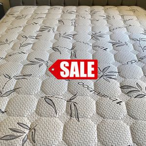 BAMBOO BRAND 🎋 FULL SIZE PILLOW TOP MATTRESS FOR ONLY 150 PLUS DELIVERY ‼️ for Sale in Downey, CA