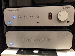 Peachtree Audio Pro Nova Pre Amplifier & bonus 220 Power Amp included for Sale in Kenmore, WA