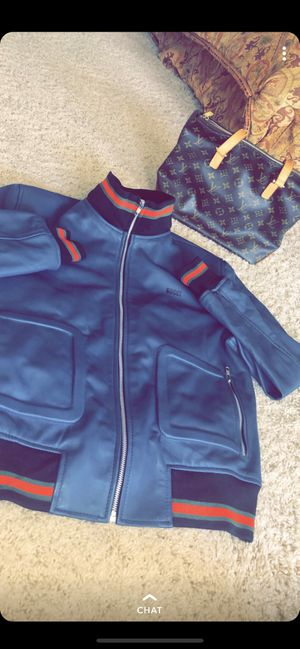Gucci bomber jacket for Sale in Fresno, CA