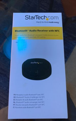 StarTech Bluetooth Audio Receiver with NFC for Sale in Schaumburg, IL