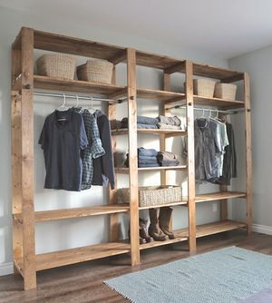Custom made wood closet organizers for Sale in San Marcos, CA