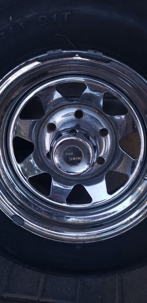 6x139.7 truck/ pickup wheels rims for Sale in Las Vegas, NV
