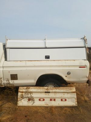 Utility shell camper with top rack for Sale in Glendale, AZ