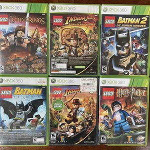 8 Lego Games - Xbox 360 for Sale in Chino Hills, CA