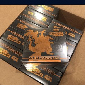 Champions Path And Vivid Voltage Elite Trainer Box ETB Sealed Boxes for Sale in Fremont, CA