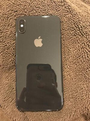 iPhone XS space gray 256gig for Sale in Fresno, CA