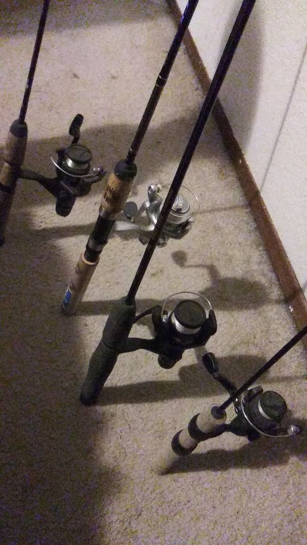 4 Nice Trout Fishing Rod & Reel Combos
