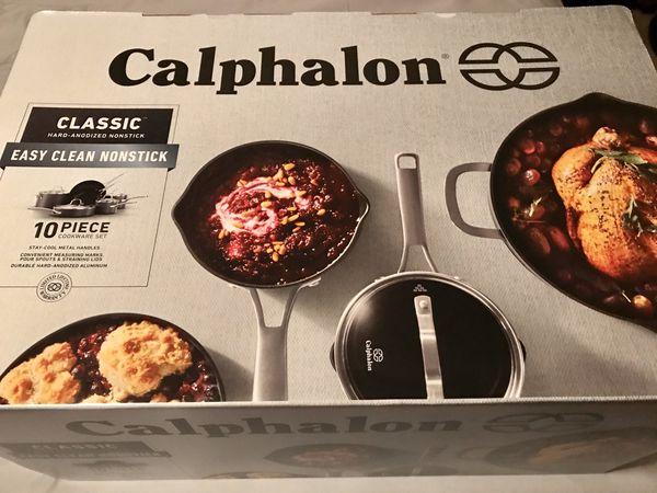 Calphalon Classic 10 Piece Anodized Nonstick - BRAND NEW - Make Offer