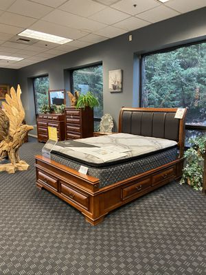 Queen Size Platform Bed Frames $499 Each / All Available in King Size for $599 Each / Queen Mattresses Start at $349 and King Start at $499 for Sale in Vancouver, WA