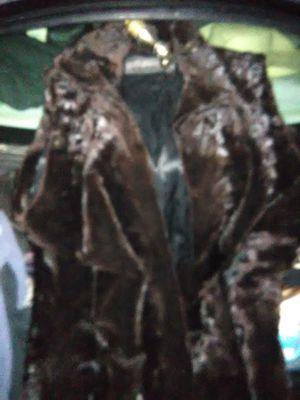 Brown fur vest for Sale in Easley, SC