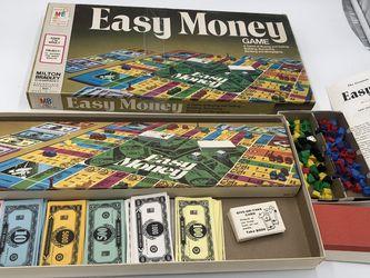 Vintage 1978 Easy Money Brand Game for Sale in Englewood,  NJ
