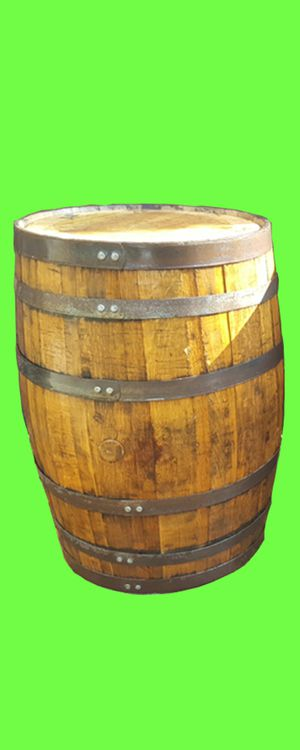 Rustic oak whiskey wine barrel for decor restaurant sports bar smoke shop tiki hut patio backyard furniture for Sale in Miami, FL