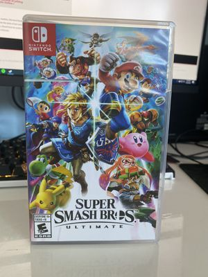 SUPER SMASH BROS ULTIMATE for NINTENDO SWITCH for Sale in San Rafael, CA