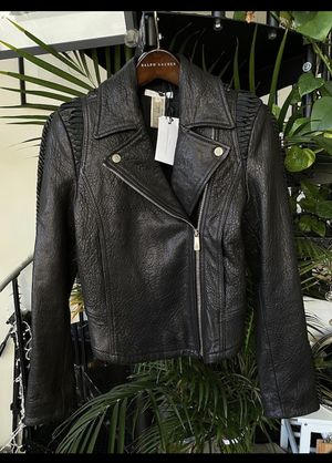 Faith Connexion S Leather Jacket for Sale in Jersey City, NJ
