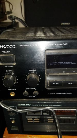 Stereo Amps and Receivers for Sale in Humble, TX