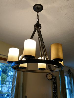 Rustic lighting- six lamps for Sale in Hilliard, OH