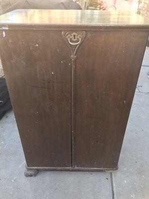 Antique entertainment center/ cabinet/ side table etc for Sale in Tolleson, AZ
