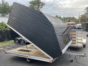 """2008 Karavan Ultra 10'x101"""" enclosed all aluminum trailer will trade for Sale in Westford, MA"""