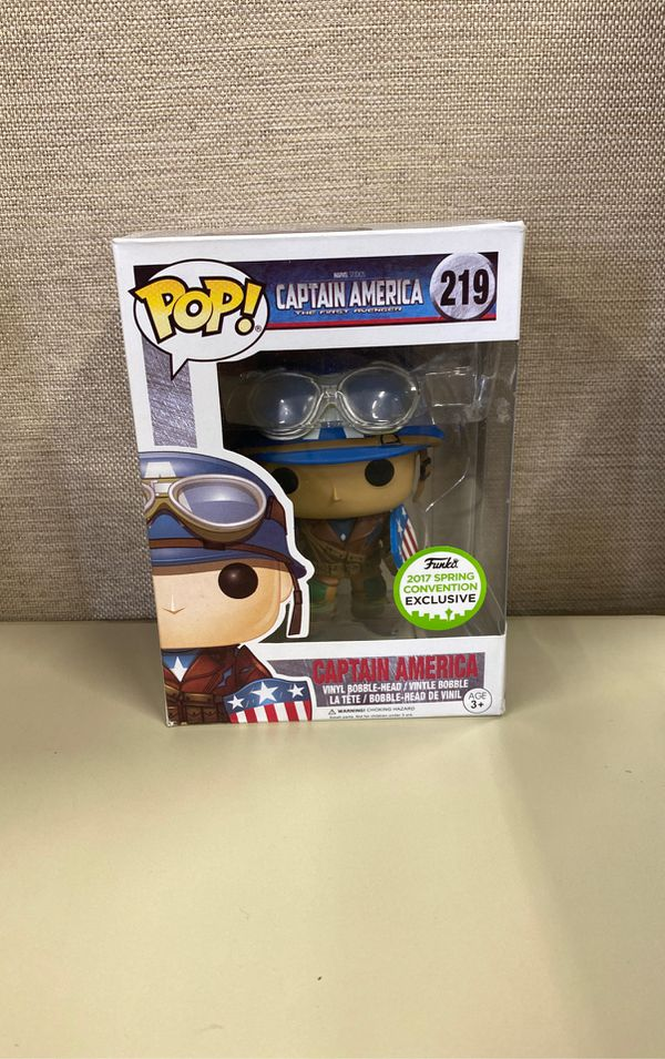 CUSTOM Captain America Pop