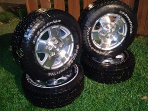 Wheels and tires. For Toyota. Tundra for Sale in Fort Worth, TX