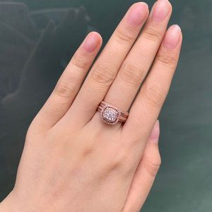 NEW Rose Gold Ring Engagement for Women Proposal Anniversary Wedding Promise Ring for Sale in Las Vegas, NV