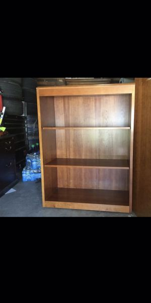 Book case self very solid & heavy for Sale in Fresno, CA