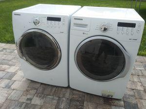 Samsung VRT Steam Washer and Dryer set for Sale in Winter Haven, FL