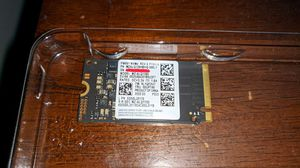 Samsung 128gb m.2 2242 NVMe SSD for Sale in Redford Charter Township, MI