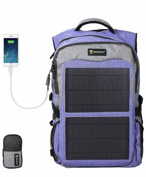 Sunkingdom Solar Charging Camping Hiking Backpack for Sale in Los Angeles, CA