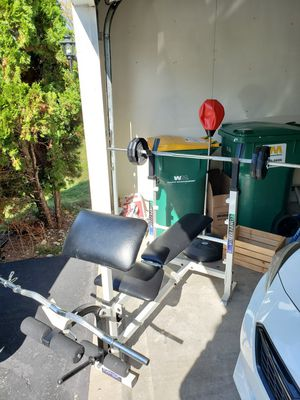 Competition Workout Bench! Great Condition! for Sale in Bolingbrook, IL
