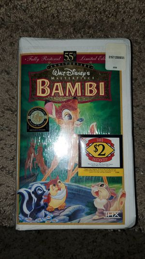 Bambi VHS Unopened for Sale in Henderson, NV