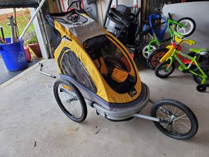 Via velo bike trailer great condition for Sale in West Chicago, IL