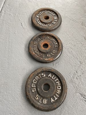 5lb weight plates for Sale in Homestead, FL