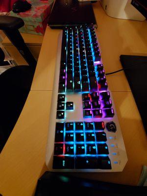 Gigabytes XK700 Xtreme Mechanical Gaming Keyboard RGB backlight for Sale in Rancho Cucamonga, CA