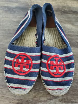 Tory burch sneakers shoes flats size 8 for Sale in Alafaya, FL