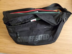 Undefeated x Nike messenger/shoulder bag for Sale in San Diego, CA