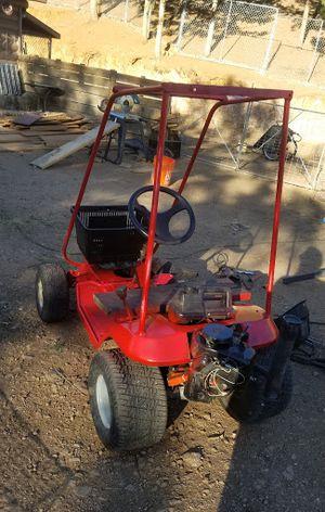 Kid UTV ATV, Side by Side, Dune buggy, go kart, Has Reverse, Hydrostatic transmission, Dumping basket, Roll cage, Electric/Pull start, Lots of fun. for Sale in Littleton, CO