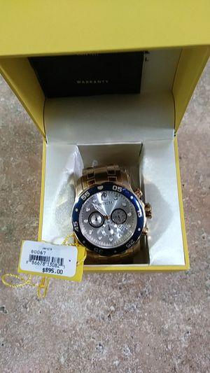 Invicta model 80067 chronograph date silver face for Sale in Kirkland, WA