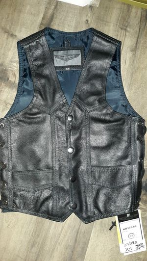 Boy leather vest New size 4-5 for Sale in San Diego, CA