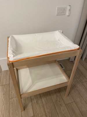 IKEA changing table with cushion+cover for Sale in Stone Ridge, VA