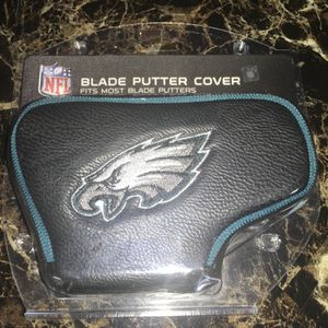 Philadelphia Eagles NFL Blade or Mallet Putter Golf Club Head Cover Embroidered New in box for Sale in Fairfax, VA