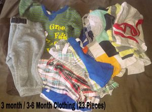 3 to 3-6 Month baby boy clothes & other stuff for Sale in Lakeland, FL