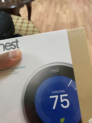 Nest 3rd Generation learning thermostat for Sale in Woodbridge, VA