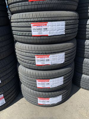 ALL SEASON TIRES FOR SALE WITH GOOD MILEAGE LOWEST PRICES for Sale in Morada, CA