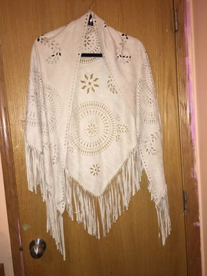 MIXIT bohemian shawl with fringe Size One Size for Sale in Des Moines, IA