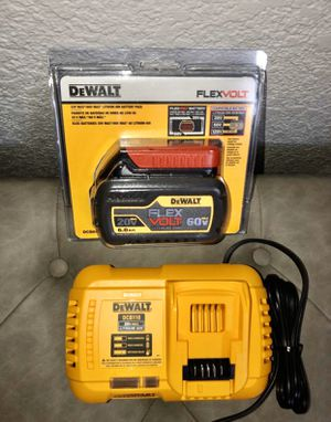 DeWalt FAST Charger Model DCB118 & Packaged 6.0ah Battery for Sale in Covina, CA