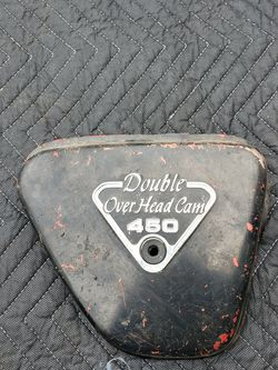 Honda Cb450 Cb 450 Overhead Cam Right Side Cover for Sale in Gresham,  OR