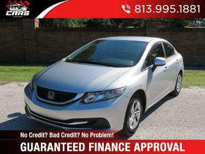 2013 Honda Civic Sdn for Sale in Riverview, FL